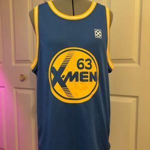 X-Men Charles Xavier Basketball Jersey